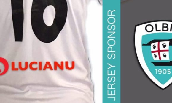 Lucianu con Olbia Calcio