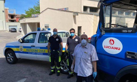 Donazione da record a Olbia: 18mila bibite, acqua e succhi per le famiglie in difficoltà
